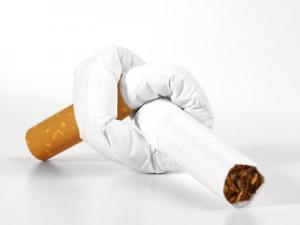 Ohne Zigaretten, endlich Nichtraucher